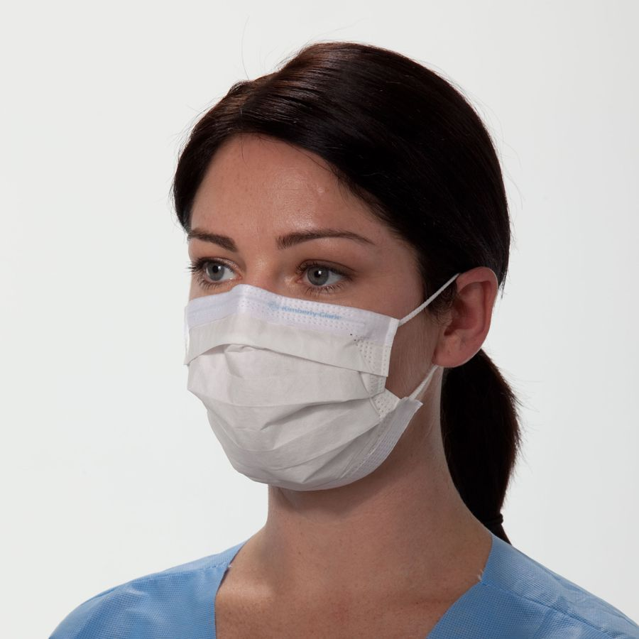 47090 Mask Kimberley - Pleated Ear With Face Loops Clark