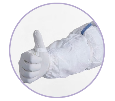 Kimtech Pure A5 Sterile Cleanroom Sleeves - 36077