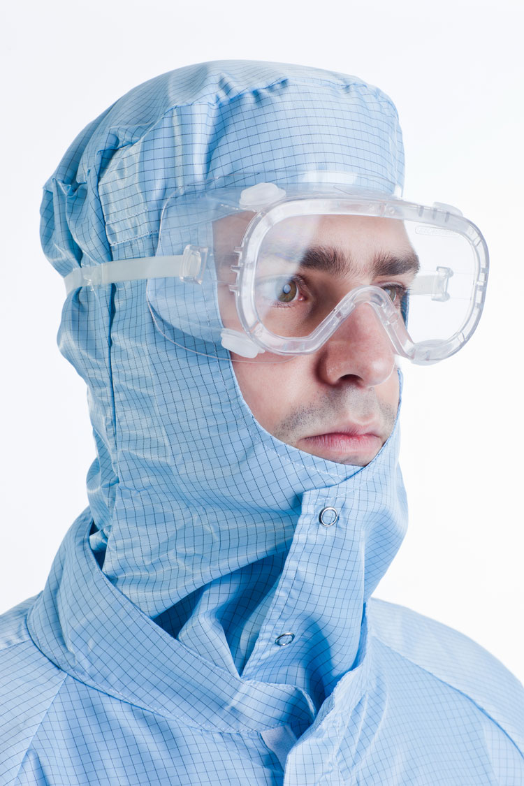 BioClean Clearview™ Sterile Cleanroom Goggles Single Use