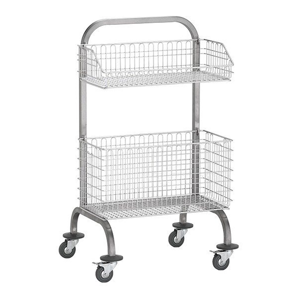 Cleanroom Basket Trolley