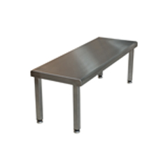 Stainless Steel Cleanroom Gowning Bench - CESBENCH1