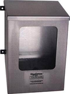 Stainless Steel Cleanroom PPE Workwear Dispenser - CESDISPENSER3