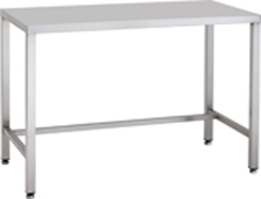 Stainless Steel Cleanroom Table 1200mm x 750mm - CESTABLE3