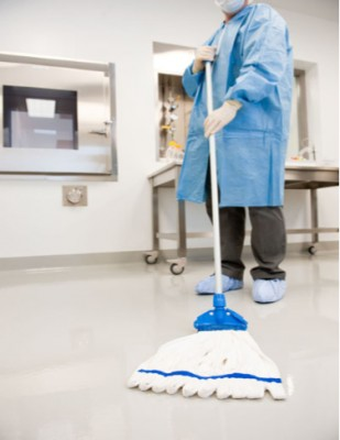 Cleanroom Mop Cleanroom String Mop Handle Amp Clamp