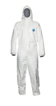 Hooded Coverall Tyvek Dual