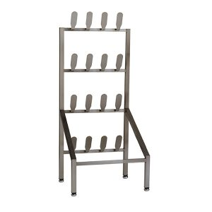 Stainless Steel Shoe Rack Freestanding