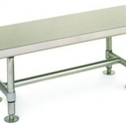 CLEANROOM STAINLESS STEEL GOWNING BENCH