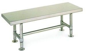 STAINLESS STEEL GOWNING BENCH 16 X 60 - GB1660S