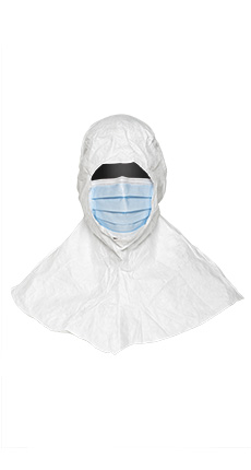 Dupont Tyvek Isoclean Hood and Mask
