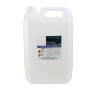 MICROZONE Cleanroom 70% IPS Disinfectant Solution 5LTR