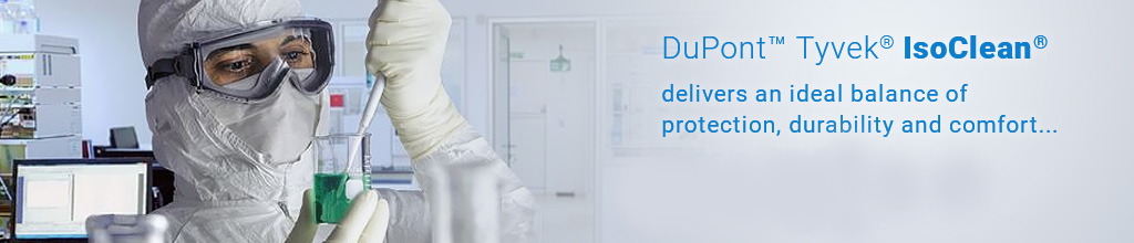 Sterile Dupont Tyvek Isoclean