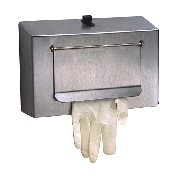 Stainless Steel Glove Dispenser