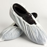 *Special Offer* Disposable CPE Overshoes White 36cm - OS5P100