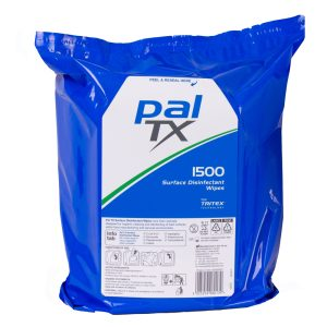 Pal TX Surface Quat Free Disinfectant Wipes 1500 Refill