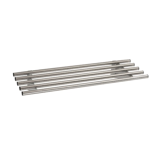 Stainless Steel Railed Wall Shelf