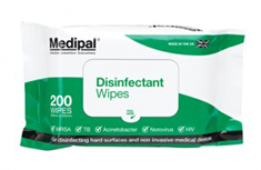 Medipal Disinfectant Wipes - S626110MPCE