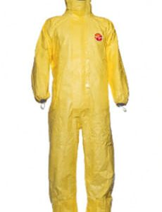 Dupont Tychem® 2000 C Coverall with Socks - TCCHA5TYL16