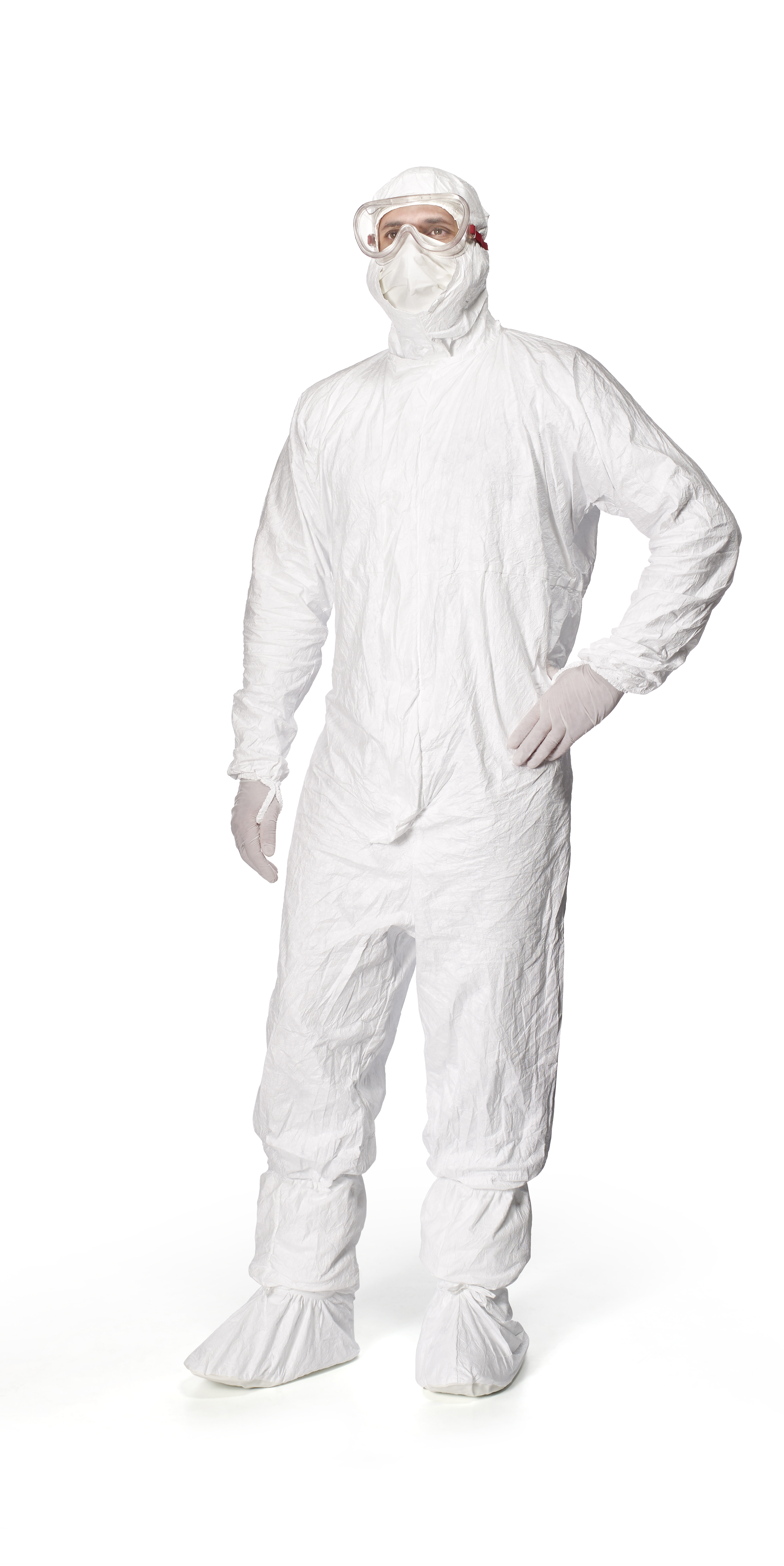 Tyvek IsoClean Coverall with Hood