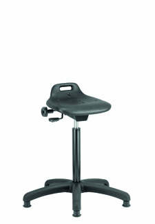 Cleanroom Chair - PU Sit/Stand - CHEPS010