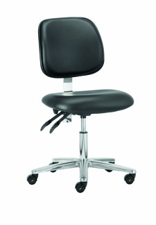 Cleanroom Chair - Conductive Low Chair - CHEPS302