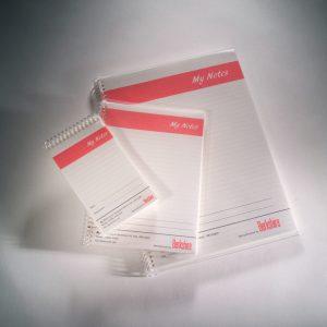 A5 Ruled Cleanroom Notebook - MNBA5R