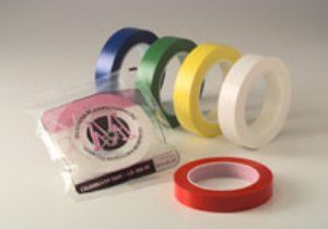 """Clearoom Vinyl Tape Clear 1"""" - CR100PCCL"""