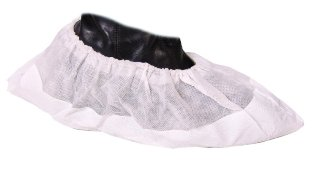 Sterile Disposable PVC Overshoes Heavy Duty White - OSHD1IRR