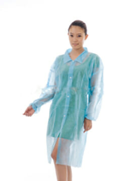 Microzone Disposable Coat - Polypropylene (White) - PG3