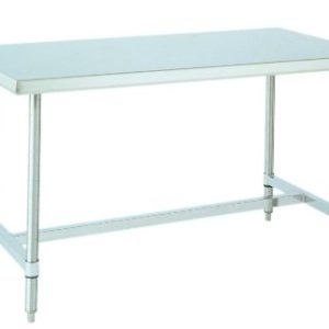"Stainless Steel Table 44"" Wide - TABLE44"